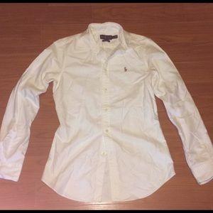 Ralph Lauren Oxford White Button Up